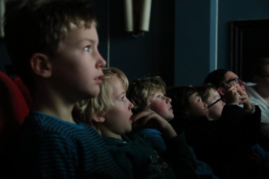 Publikum im Metropolis Kino in Hamburg beim abgedreht Nachwuchs Filmfestival 2014