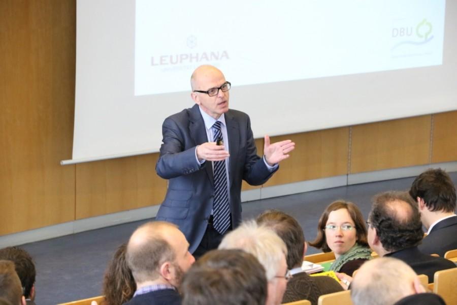 Eröffnung der Tagung BBS futur 2.0 an der Leuphana Universität Lüneburg