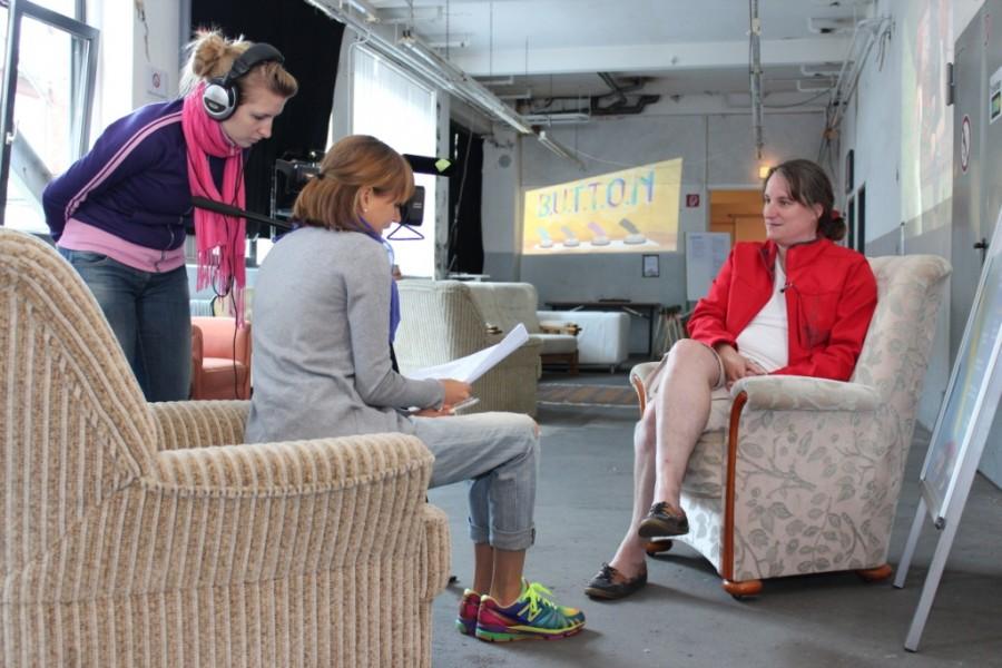 Interview während des PLAY Festivals für kreatives Computerspielen