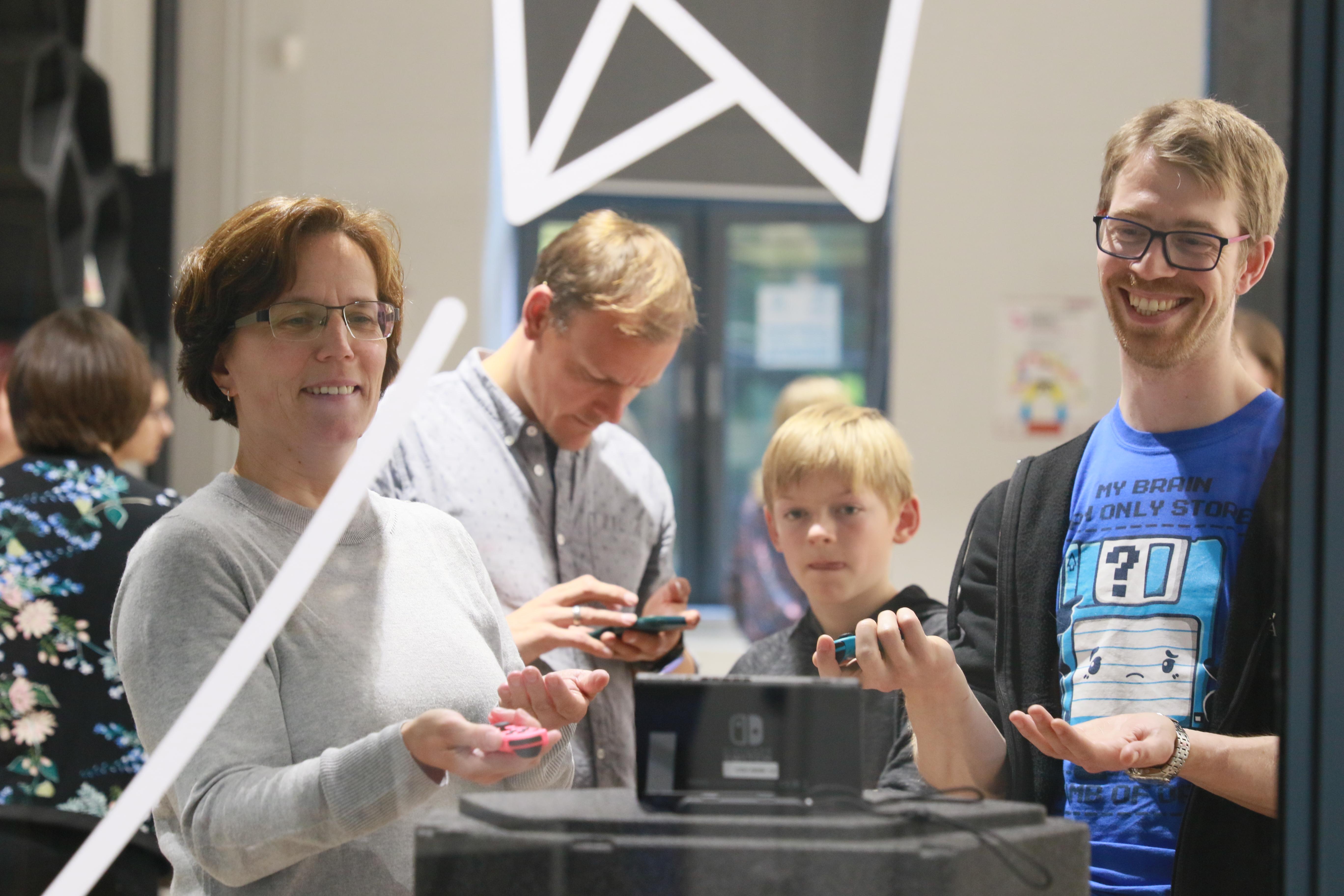 Eröffnung der ComputerspielSchule Hamburg