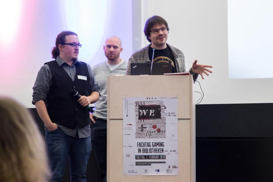 Fachtag Gaming HAW Hamburg 2018